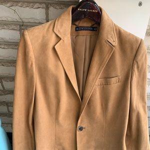 Ralph Lauren Suede Blue Label blazer